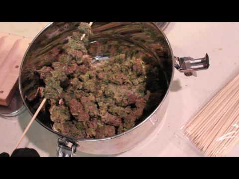 "All Cannabis Cigar Mold- How to  roll all Cannabis ""Cigar"""