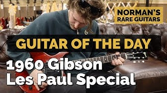 Guitar of the Day: 1960 Gibson Les Paul Special | Norman's Rare Guitars