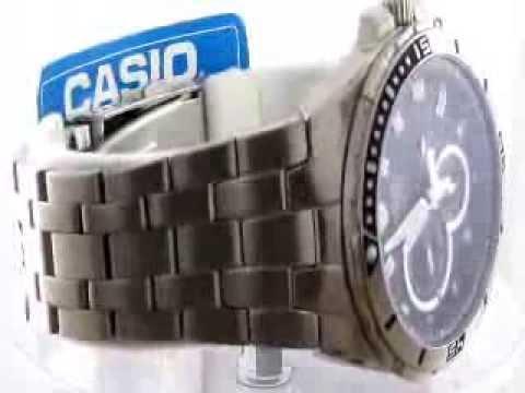 how to set analog time on casio edifice efa 131