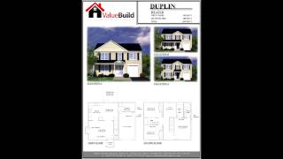 Three Bedroom House Plans - Custom Home Designs