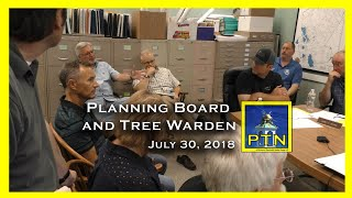 Pembroke Planning Board meets with the Tree Warden about new Taylor St.  developments