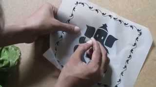 Learn Online Fabric Painting courses Part 3 of 8 By Prasanta Kar