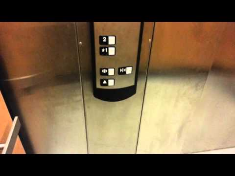 BRAND NEW!!! Schindler 330A hydraulic elevator @ Dick's Sporting Goods in Cerritos Mall
