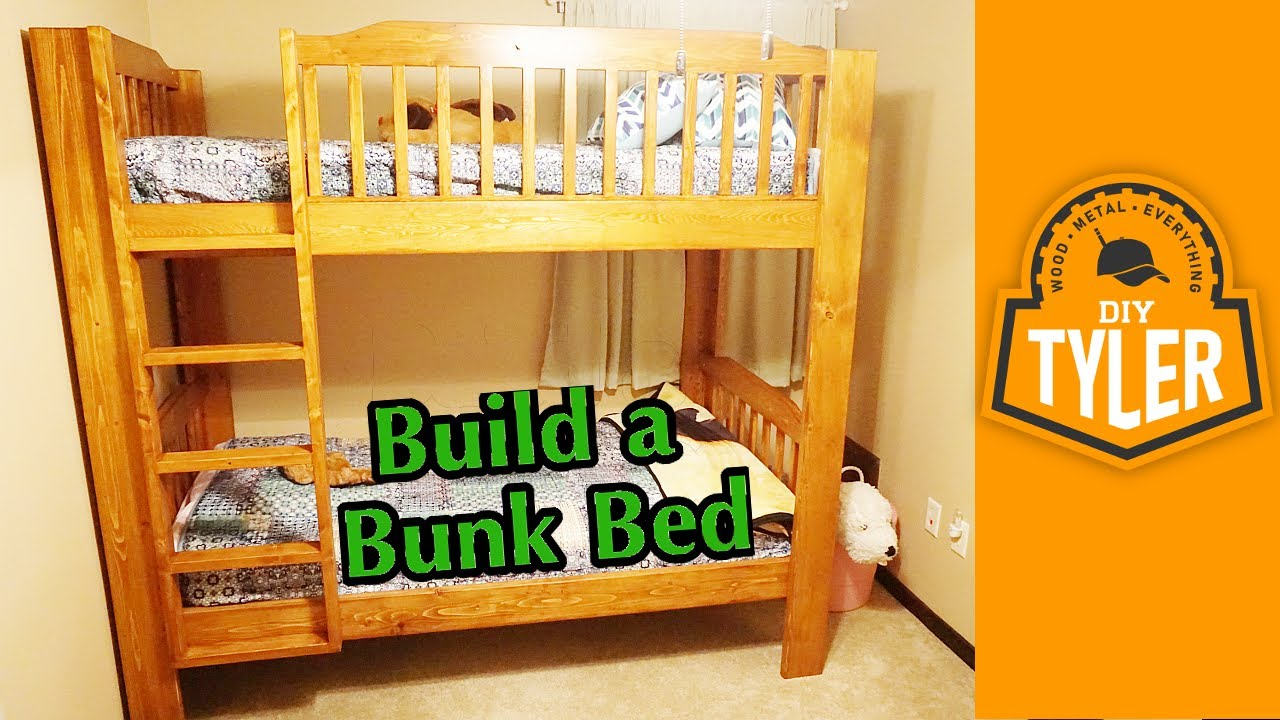 Superieur DIY Bunk Bed   YouTube