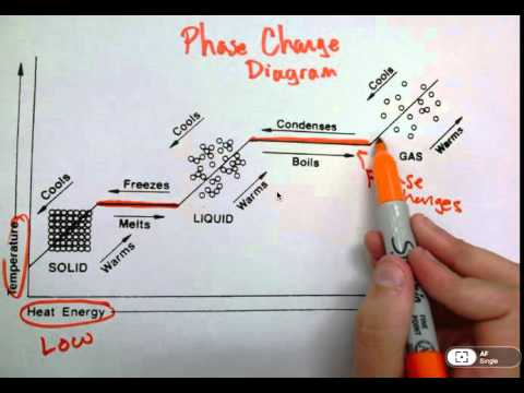 phases of matter and phase change diagrams