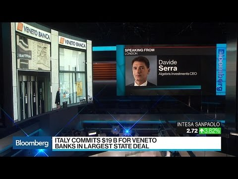 Algebris CEO Serra Says Italian Banking Crisis Is Done