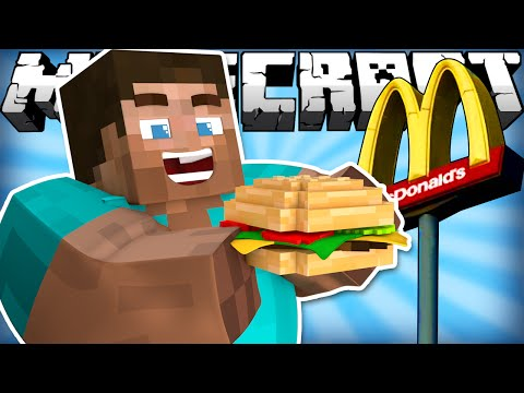 Thumbnail: If Fast Food was Added to Minecraft