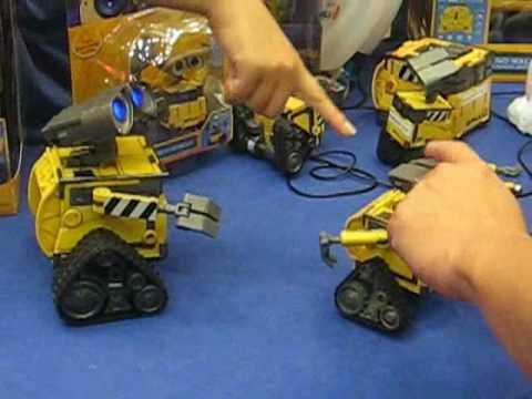 Interactive Wall E Toys Youtube