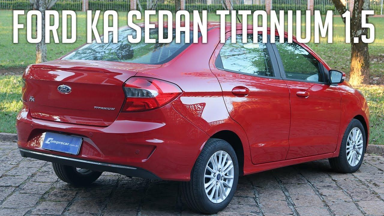 Ford Ka Sedan Titanium 1 5 Youtube
