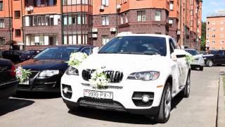 Свадебный кортеж BMW X6 в Минске