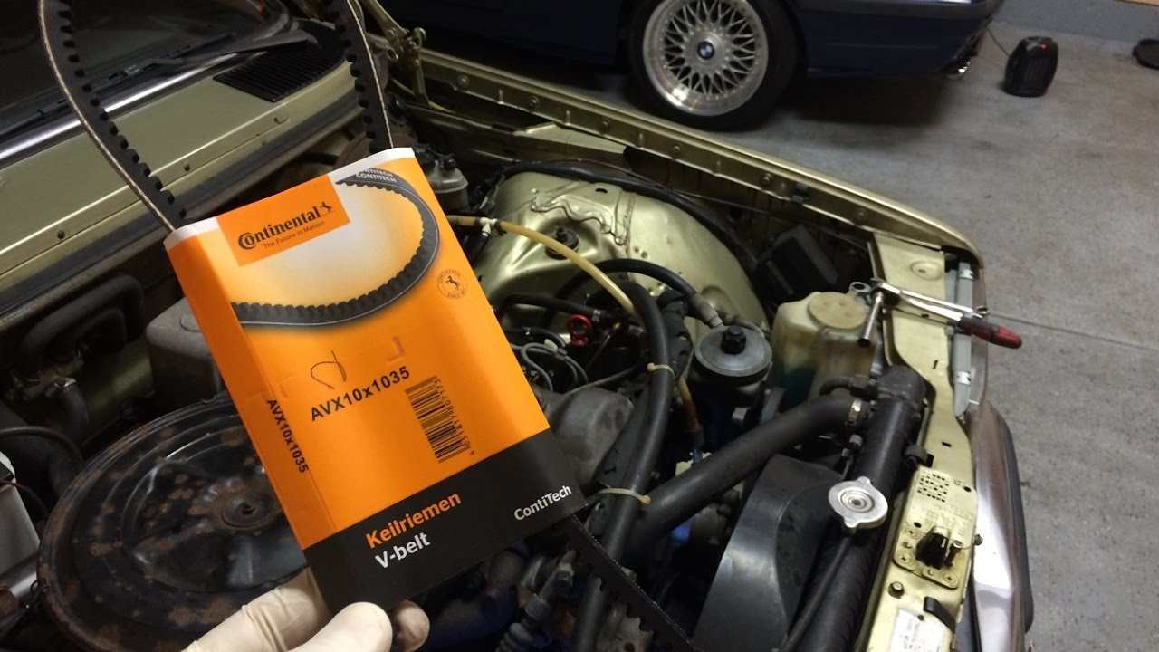 diy # 1 how to change the motor drive belts on w123 mercedes 300d om617