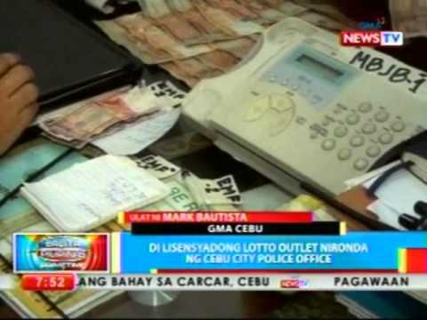 BP: 'Di lisensyadong lotto outlet nironda ng Cebu City Police Office