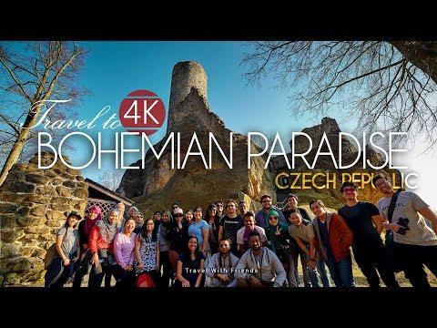 Travel to Bohemian Paradise, Czech Republic in 4K