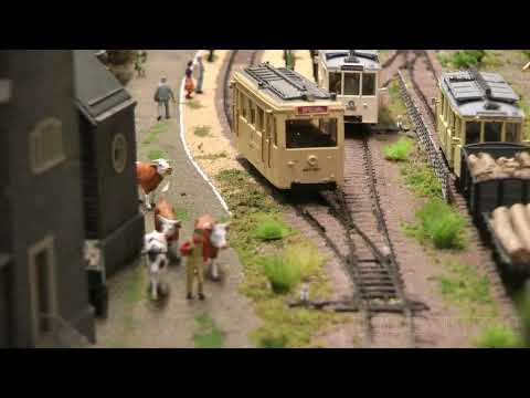 The Little Model Tramway In The Province Of Namur In Belgium By Jan Martens