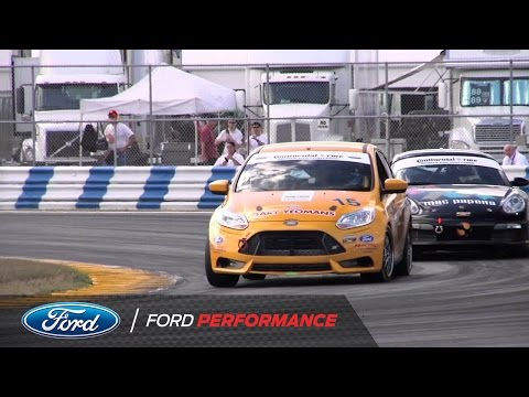 Focus ST-R Makes its Competition Debut at Daytona | Road Racing| Ford Performance