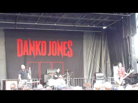 DANKO JONES - @ Rockstar Energy Drink Uproar Festival at Molson Amphitheatre