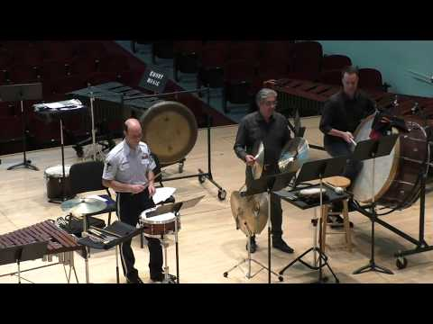 "2017 Emory Percussion Symposium Clinic - Marc Dinitz (""A Day in the Life of the Air Force Band"")"