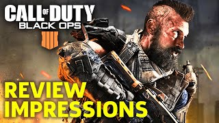 Call Of Duty Black Ops 4 Early Review Impressions