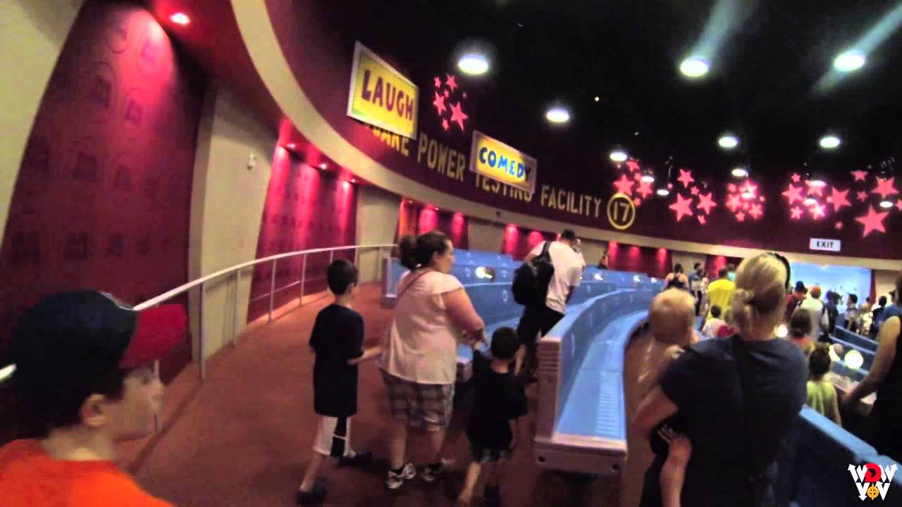 Tomorrowland Stitch S Great Escape To Monsters Inc Laugh