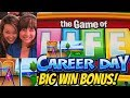 BIG WIN! GAME OF LIFE CAREER DAY WITH CAROLINE