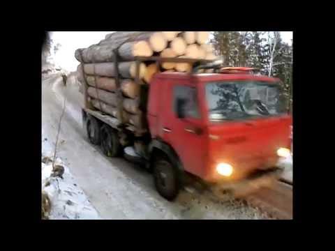 Камаз лесовоз