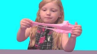 Розовый слайм  из Китая. Обзор покупного слайма. Slime. Видео для детей. Video for kids.
