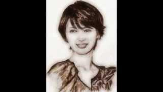 吉瀬美智子さんをソフトタッチで描き直したら、楚々とした雰囲気が出て...