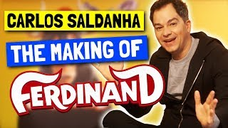 Director Carlos Saldanha Reveals How Ferdinand Movie Was Made And Casting John Cena!