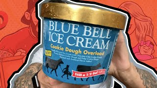 Ice Cream Review: Blue Bell's Cookie Dough Overload!