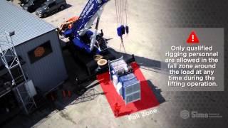 Video still for Load Landing & Taglines | Sims Crane Minute