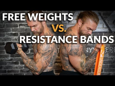 How Do Resistance Bands Compare to Weights