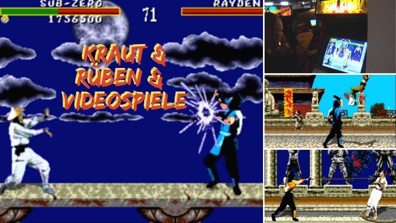 Mortal Kombat (Super Nintendo Vs. Mega Drive) | Kraut & Rüben & Videospiele #89