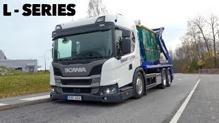 SCANIA L360 (Easy Access Cab) Skip Truck - Full Tour & Test Drive