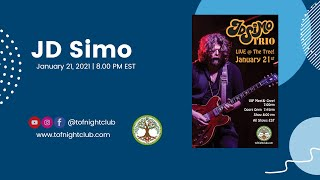 JD Simo Trio, 01/21/2021 - Presented by TOF Productions