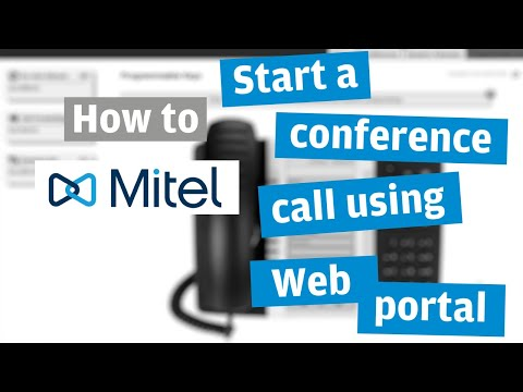 set up conference call