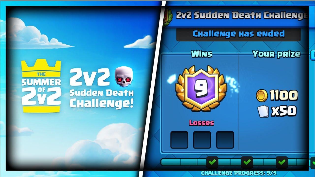 Image result for sudden death challenge clash royale