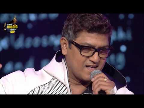 Aadesh Shrivastav at the 7th Royal Stag Mirchi Music Awards-2015