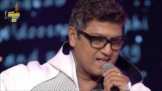 aadesh shrivastav at the 7th royal stag mirchi music awards 2015