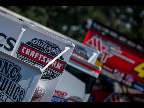 """World of Outlaws Sprint Cars at FALS 2018- """"What a Feeling"""""""