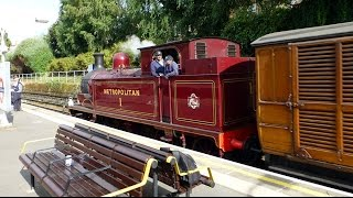 150 Years H&C Line Special Train Passes Through South Ealing.