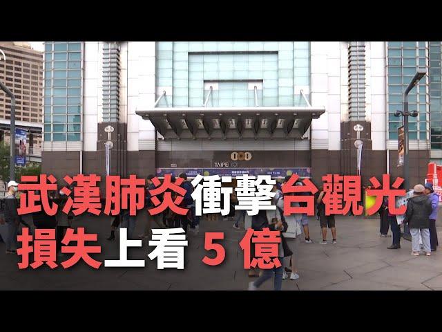 【武漢肺炎衝擊台觀光 損失上看5億】【央廣新聞】