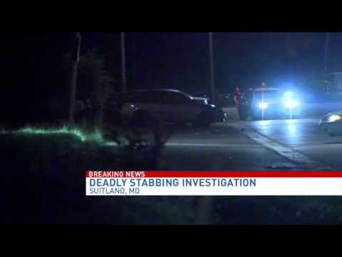 Man dies after stabbing in Suitland, Md.