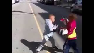 These two little kids are awesome  Great skill