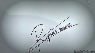 R signature | How to create my own signature | for sign+91 8304091383 (whatsapp chat)