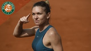 Simona Halep vs Sloane Stephens - The day before the final I Roland-Garros 2018