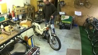 Démarrage Motobécane 881 Utilitaire