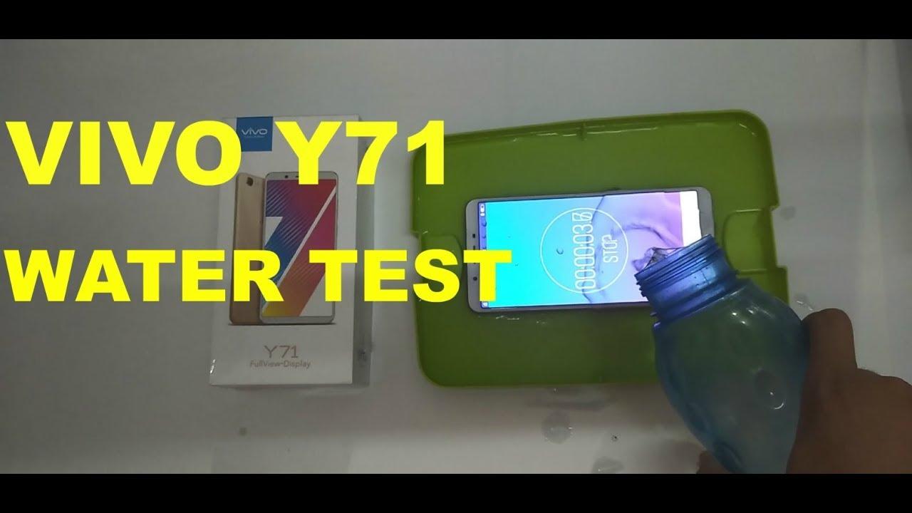 Vivo Y71 Water Test