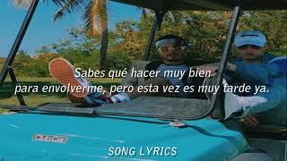 J. Balvin, Bad Bunny - QUE PRETENDES (Letra/Lyrics)