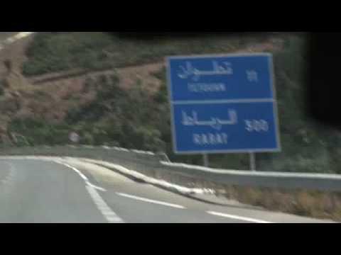 Moroccan Taxi Ride to Tétouan