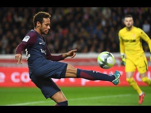 Neymar's magical skills for Paris Saint-Germain against AS Monaco